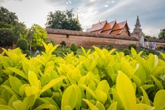 Wat Phra That Lampang Luang. The ancient temple in Thailand. Wat Phra That Lampang Luang. The ancient temple in Lampang district, north of Thailand. Landscape stock photos