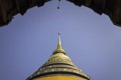 Wat Phra That Lampang Luang pagoda Royalty Free Stock Photo
