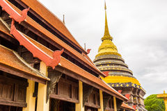 Wat Phra That Lampang Luang temple. Wat Phra That Lampang Luang temple in Lampang, Thailand Royalty Free Stock Photography