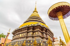 Wat Phra That Lampang Luang temple. Wat Phra That Lampang Luang temple in Lampang, Thailand Stock Images