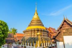 Wat Phra That Lampang Luang temple. Wat Phra That Lampang Luang temple in Lampang, Thailand Royalty Free Stock Image