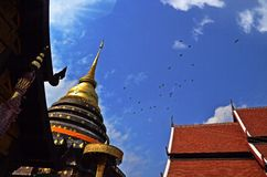 Wat Phra That Lampang Luang. Thailand travel temple royalty free stock image