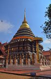 Wat Phra That Lampang Luang. Thailand travel temple stock photo