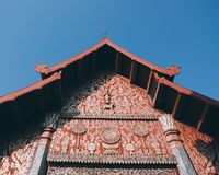 Wat Phra That Lampang Luang. A paradigm of temple building of Lanna Lampang Province Thailand royalty free stock photos