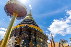Wat Phra That Lampang Luang. Is a temple in Lampang Province in Thailand, Is a tourist attraction.Cultural royalty free stock image