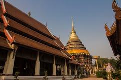 Wat Phra That Lampang temple Royalty Free Stock Photography