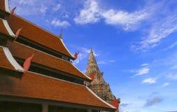 Wat Phra那Luang Lampang 免版税库存照片