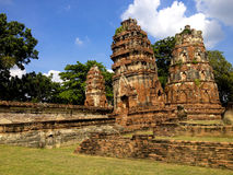 Wat Phra Mahatha-@Ayutaya Thailand Stock Afbeeldingen