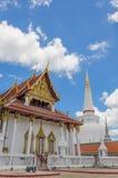 Wat Phra Mahathat, Таиланд Стоковое Фото