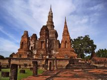 Wat Phra Mahathat  Royalty Free Stock Photography