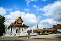 Wat Phra Mahathat Lizenzfreies Stockbild