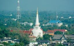 Wat Phra Mahathat Stockbild