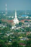 Wat Phra Mahathat Lizenzfreies Stockfoto