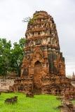 Wat Phra Mahathat Zdjęcie Stock
