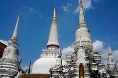 Wat Phra Mahathat Royalty-vrije Stock Afbeelding