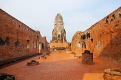 Wat Phra Mahathat, Ayuthaya Royalty Free Stock Image