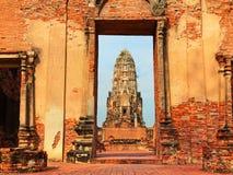 Wat Phra Mahathat, Ayuthaya Royalty Free Stock Photography
