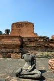 Wat Phra Mahathat, Ayutthaya Lizenzfreies Stockbild