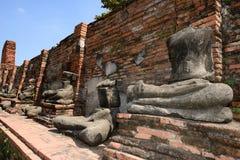 Wat Phra Mahathat, Ayutthaya Lizenzfreie Stockfotografie