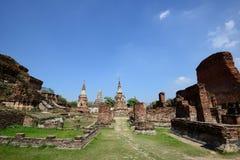 Wat Phra Mahathat, Ayutthaya Stockfoto