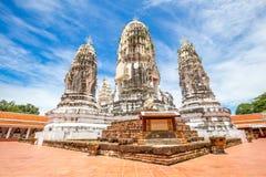 Wat Phra Mahathat, Buddyjska świątynia, Tajlandia Zdjęcie Royalty Free