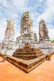 Wat Phra Mahathat, Buddyjska świątynia, Tajlandia Zdjęcia Stock