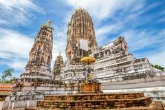 Wat Phra Mahathat, Buddyjska świątynia, Tajlandia Zdjęcie Stock