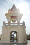 Wat Phra Mahathat chedi Pakdee Prakard in Thailand. Stock Photos