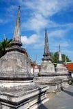 Wat Phra Mahathat, Nakhon Si Thammarat, Tailândia Foto de Stock