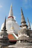 Wat Phra Mahathat, Nakhon Si Thammarat, Tailândia Foto de Stock Royalty Free