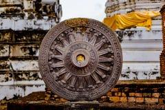 Wat Phra Mahathat på Thailand royaltyfri bild