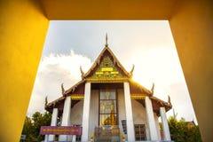 Wat Phra Mahathat or Phra Mahathat temple in Nakhon Si Thammarat Province Thailand stock photos