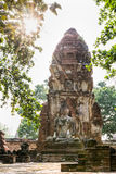 Wat Phra Mahathat temple Royalty Free Stock Photography