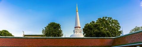 Wat Phra Mahathat or Phra Mahathat temple in Nakhon Si Thammarat Province Thailand royalty free stock photos