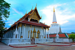 Wat Phra Mahathat Woramahawihan стоковая фотография