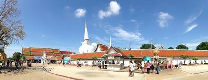 Wat Phra Mahathat Woramahawihan Стоковое Изображение