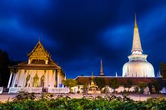Wat Phra Mahathat Woramahawihan Nakhon Si Thammarat Important Places of Buddhism Landmark stock photo