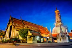 Wat Phra Mahathat Woramahawihan Nakhon SI Thammarat Important Places de point de repère de bouddhisme photo libre de droits