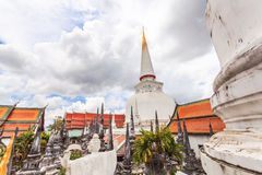 Wat Phra Mahathat Woramahawihan Stock Photo