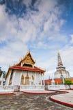 Wat Phra Mahathat Woramahawihan Nakorsrithammarat泰国 免版税库存图片