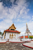 Wat Phra Mahathat Woramahawihan Nakorsrithammarat Tailandia Imágenes de archivo libres de regalías