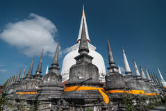 Wat Phra Mahathat Woramahawihan Nakorsrithammarat Thaïlande Photo stock