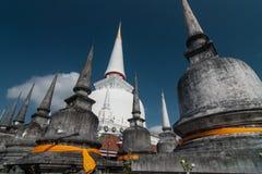 Wat Phra Mahathat Woramahawihan Nakorsrithammarat Thaïlande Photo libre de droits