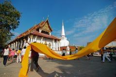 Wat Phra Mahathat Woramahawihan Nakorsrithammarat Thailand Lizenzfreies Stockbild