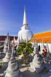 Wat Phra Mahathat Woramahawihan południowy Tajlandia Zdjęcia Stock