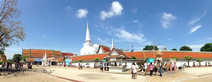 Wat Phra Mahathat Woramahawihan Stock Image