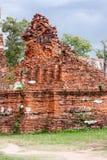 wat phra mahathatruins废墟  免版税库存图片