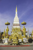 Wat Phra That Nakhon Nakhon Phanom Lizenzfreie Stockbilder