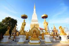 Wat Phra That Nakhon, Nakhon Phanom Tailandia Immagine Stock