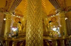 Wat Phra That Nong Bua-Binnenland Royalty-vrije Stock Fotografie